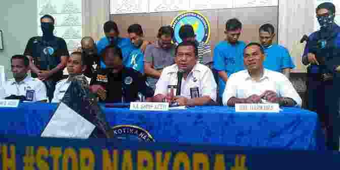 Manajer Kantor Pos Aceh Ditangkap Karena Terlibat Penyelundupan Ganja