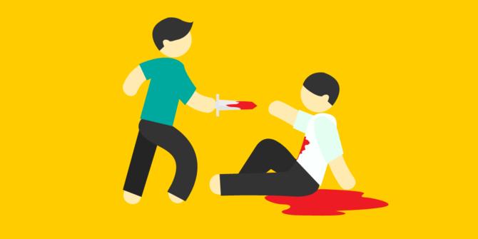 Usai Bunuh Dan Potong Kelamin Temannya Seorang Pria Menyerahkan Diri