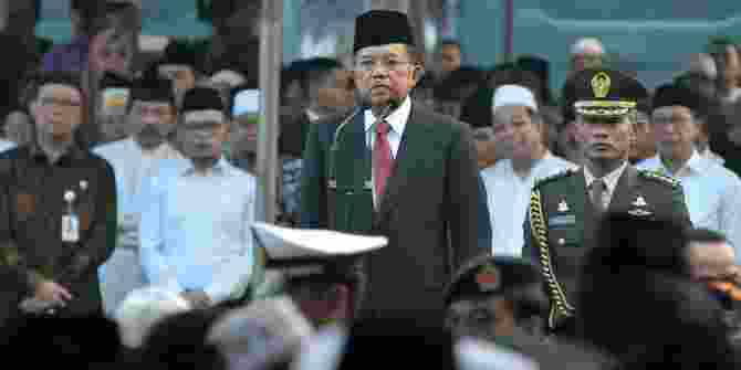 Wapres JK Sebut Indonesia Siap Menambah Pasukan Perdamaian PBB