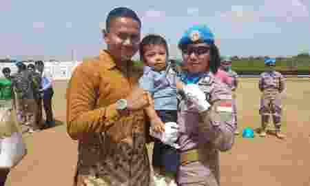 Dilema Polwan Tinggalkan Anak Demi Misi Perdamaian PBB