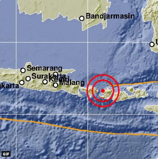 Gempa Hari Ini Menguncang Mataram NTB Berkekuatan 5.7 SR