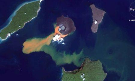Anak Krakatau Alami Kegempaan Zona Bahaya 5 Km Dari Kawah