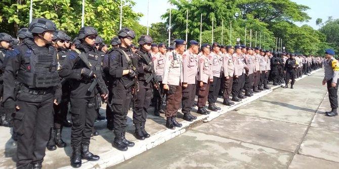 Ribuan Personel Polisi Diterjunkan Amankan Tabligh Akbar 212 Di Solo