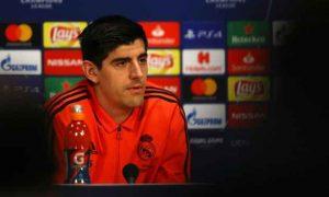Ajax Dibuat Takut Courtois Menjelang Bertemu Madrid