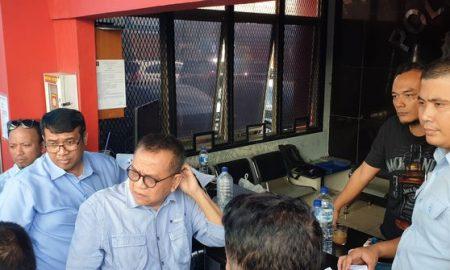 Rombongan Timses Dan Pendukung Prabowo Kunjungi Ahmad Dhani
