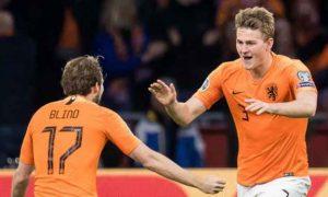 Matthijs De Ligt Menilai Belanda Ketika Menghadapi Jerman